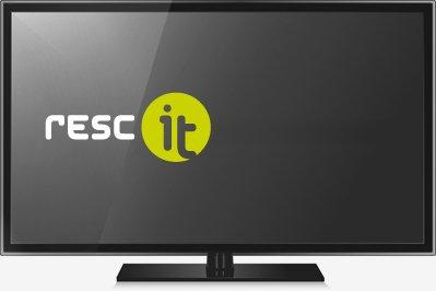 Bildschirm-mit-Logo